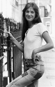 Jane Birkin English actress pop singer 1974. Mirrorpix/Courtesy Everett Collection (MPGL470739)