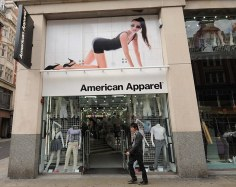 American Apparel store in W8 ©George Jaworskyj 2010 info@urbanimages.co.uk
